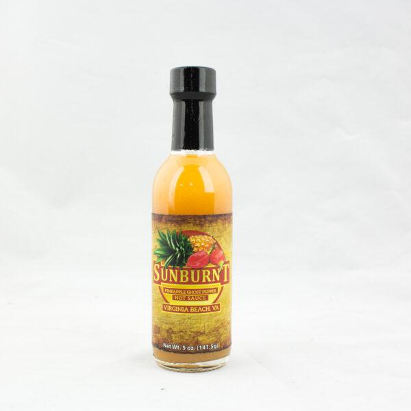 Sunburnt Pineapple Ghost Pepper Hot Sauce